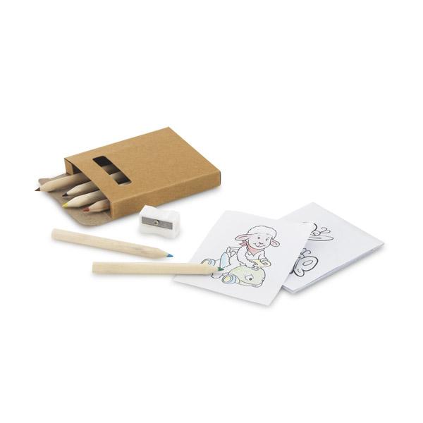 REF. 91758-Kit para pintar em caixa de cartão