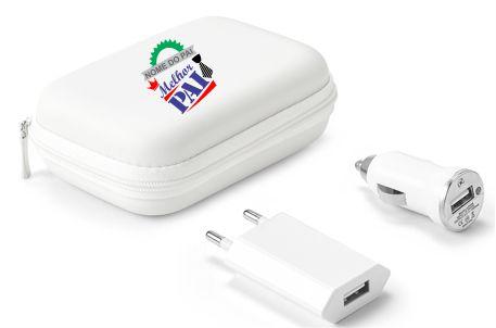 REF. 57326-KIT DE CARREGADORES USB