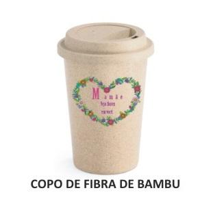 COPO PARA CAFÉ  DE FIBRA DE BAMBU