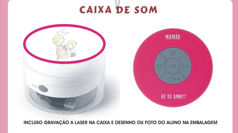 CAIXA DE SOM A PROVA D'ÁGUA
