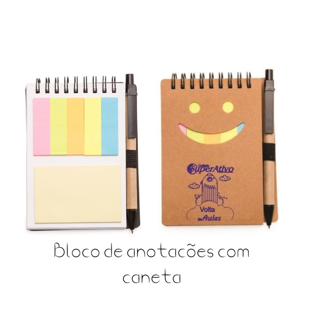 REF. 13773-BLOCO DE ANOTAÇÕES COM CANETA