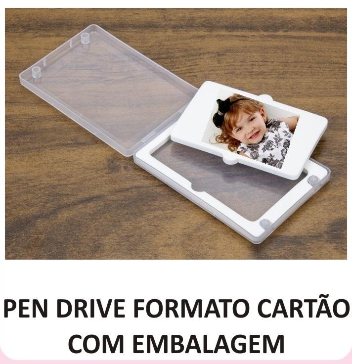 PEN DRIVE FORMATO CARTÃO 8 GB